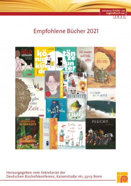 Plakat zum Katholischen Kinder- und Jugendbuchpreis 2021