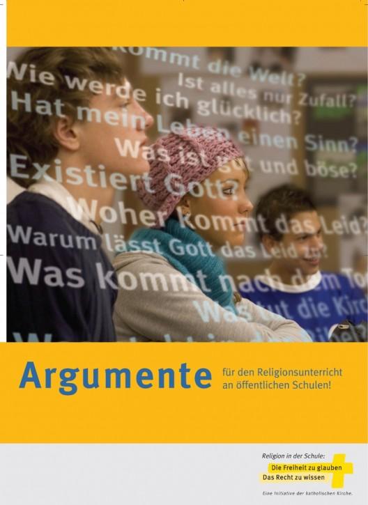 Argumente für den Religionsunterricht...