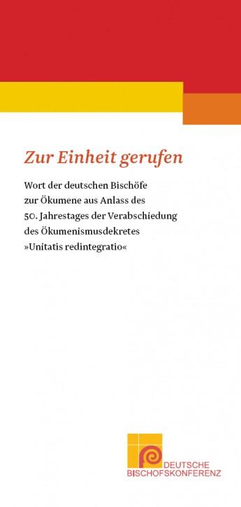 """Flyer """"Zur Einheit gerufen"""""""
