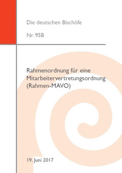 Kirchliches Arbeitsrecht: Rahmenordnung für eine Mitarbeitervertretungsordnung (Rahmen-MAVO)