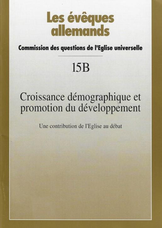 Croissance démographique et promotion du développement