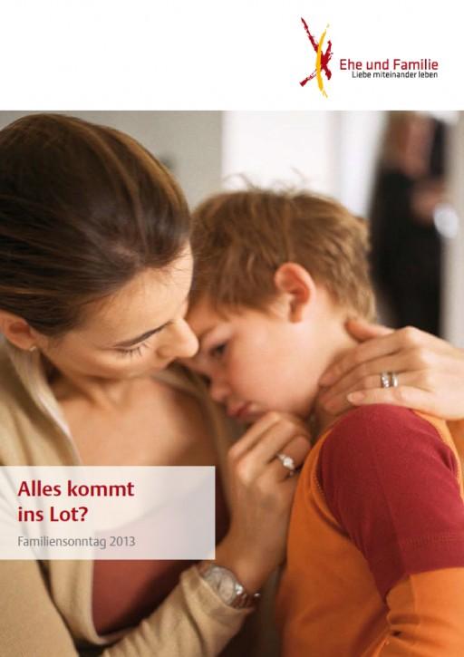 Plakat zum Familiensonntag 2013