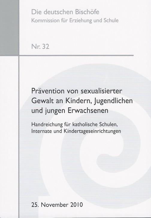 Prävention von sexualisierter Gewalt an Kindern, Jugendlichen und jungen Erwachsenen