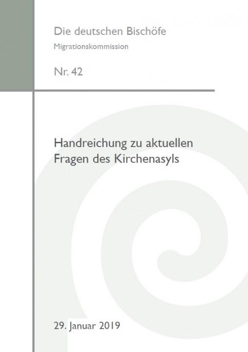 Handreichung zu aktuellen Fragen des Kirchenasyls – 2., aktualisierte Auflage 2019