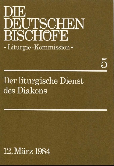 Der liturgische Dienst des Diakons