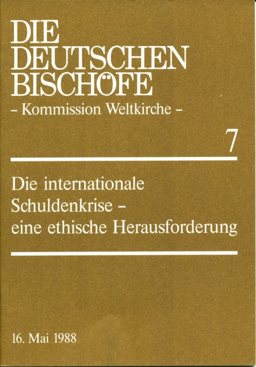 Die internationale Schuldenkrise