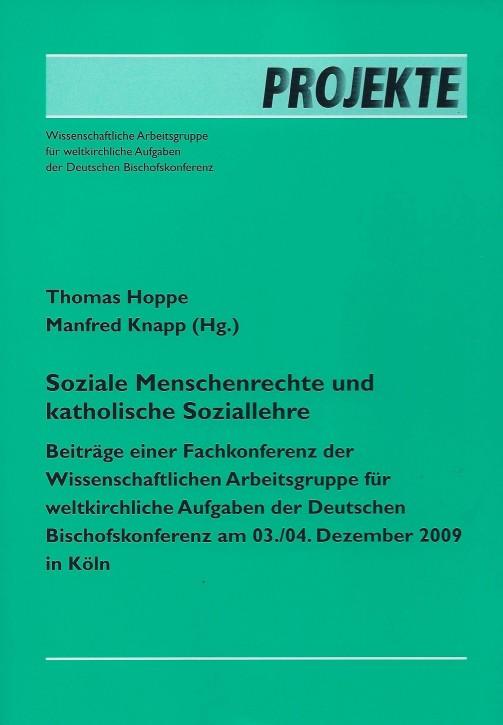 Thomas Hoppe / Manfred Knapp: Soziale Menschenrechte und katholische Soziallehre