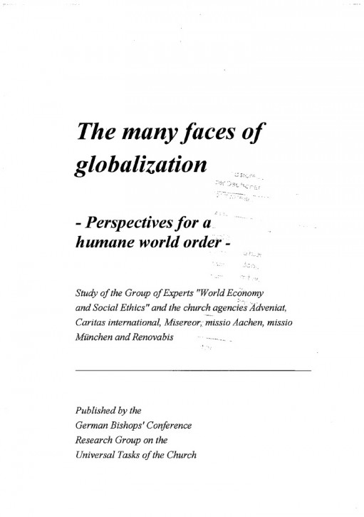 The many Faces of Globalization