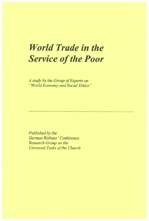 World Trade in the Service of the Poor