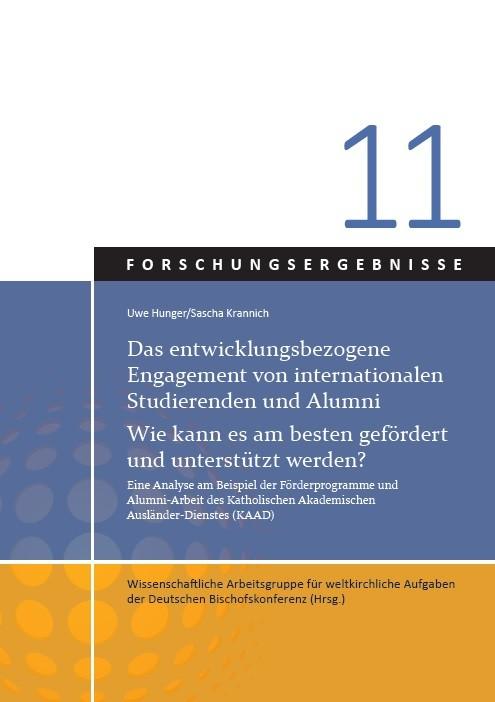 Das entwicklungsbezogene Engagement von internationalen Studierenden und Alumni. Wie kann es am besten gefördert und unterstützt werden?