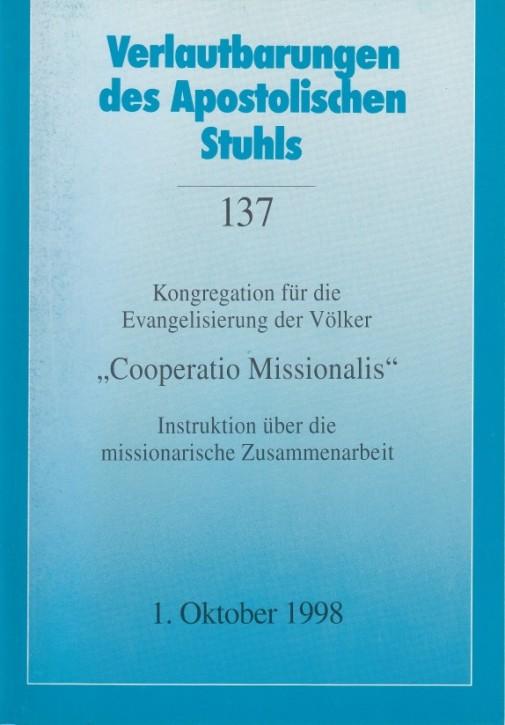 Cooperatio Missionalis - Instruktion über die missionarische Zusammenarbeit 1998