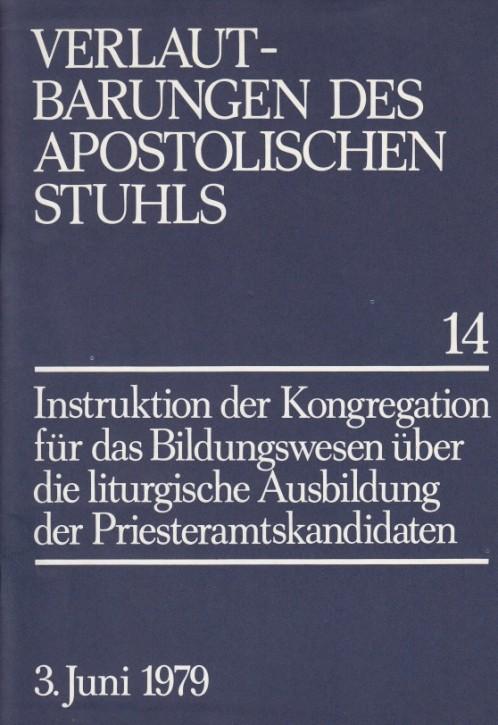 Liturgische Ausbildung der Priesteramtskandidaten