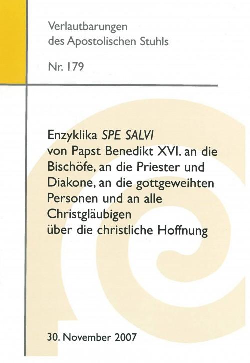 Enzyklika SPE SALVI von Papst Benedikt XVI.