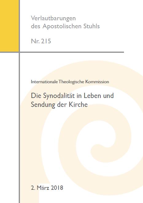 Die Synodalität in Leben und Sendung der Kirche