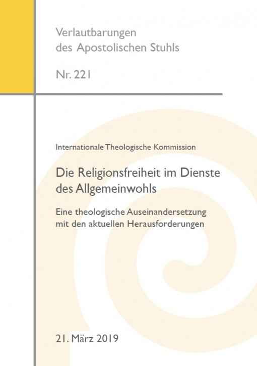 Internationale Theologische Kommission: Die Religionsfreiheit im Dienste des Allgemeinwohls