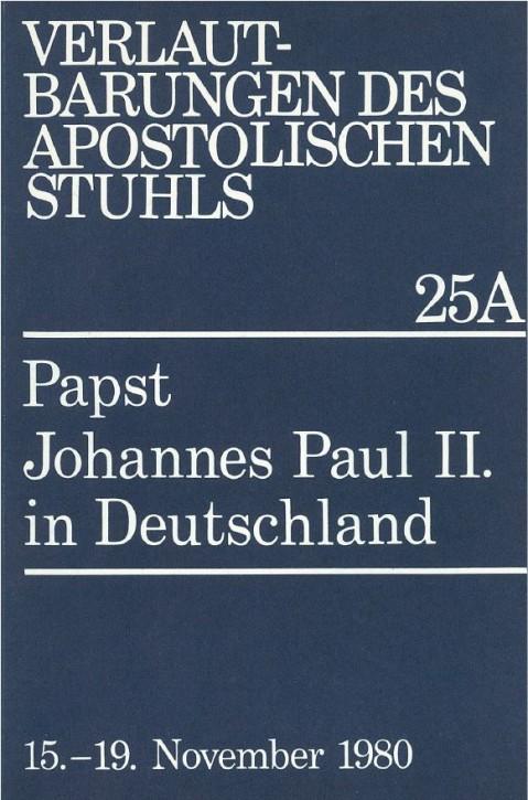 Papst Johannes Paul II.  in Deutschland