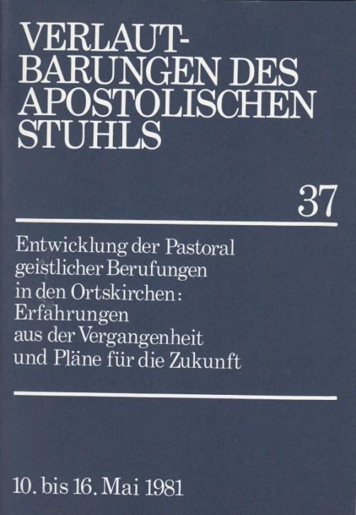 Entwicklung der Berufspastoral in den Ortskirchen