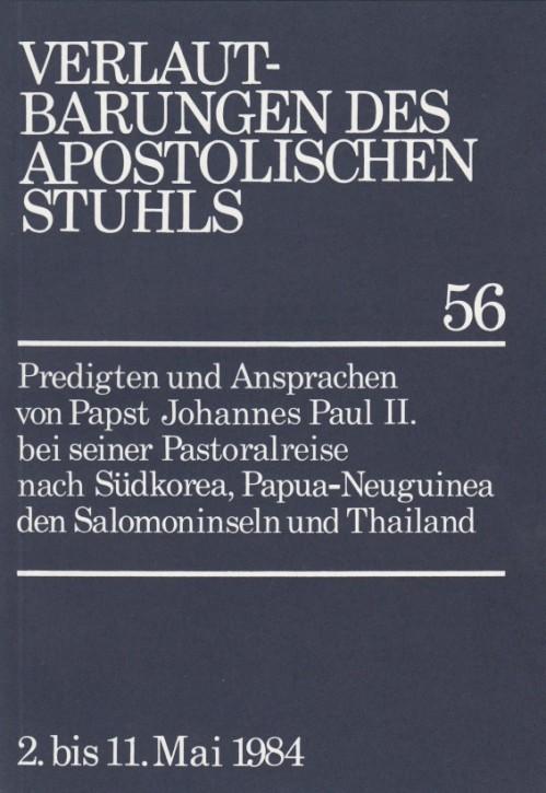Papst Johannes Paul II.: Predigten und Ansprachen bei der Pastoralreise nach Südkorea, Papua-Neuguinea, den Salomoninseln und Thailand