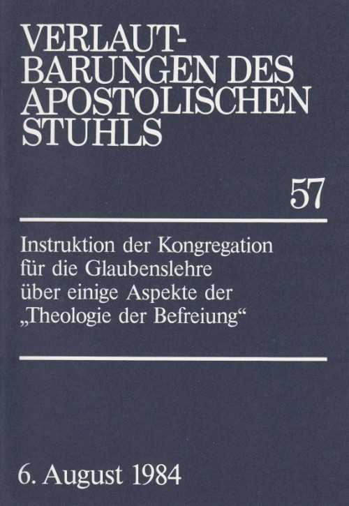Instruktion über einige Aspekte der Theologie der Befreiung