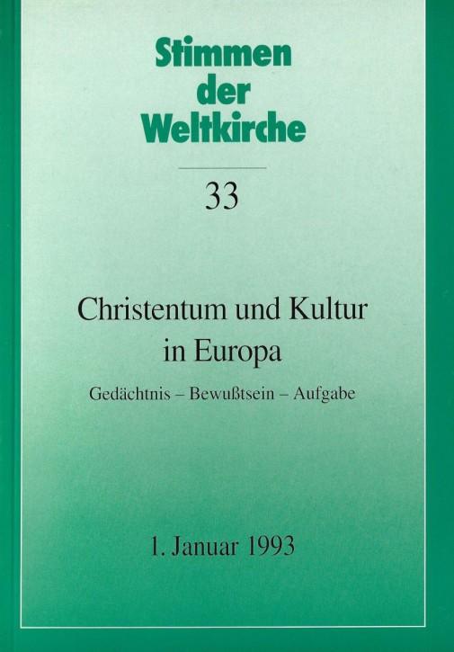 Christentum und Kultur in Europa