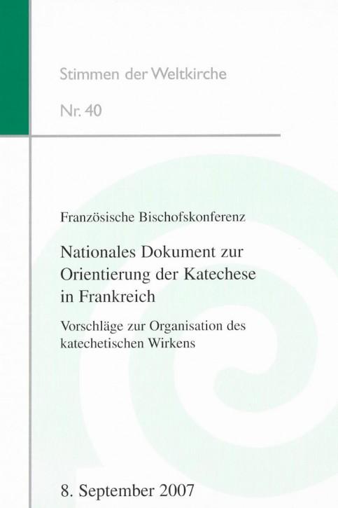 Französische Bischofskonferenz: Nationales Dokument zur Orientierung der Katechese in Frankreich