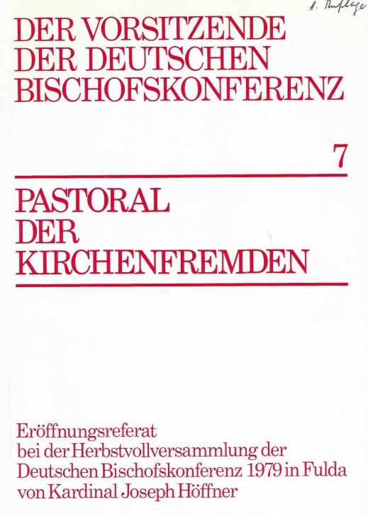 Pastoral der Kirchenfremden