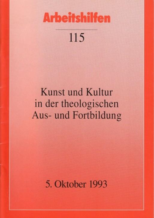Kunst und Kultur in der theologischen Aus- und Fortbildung