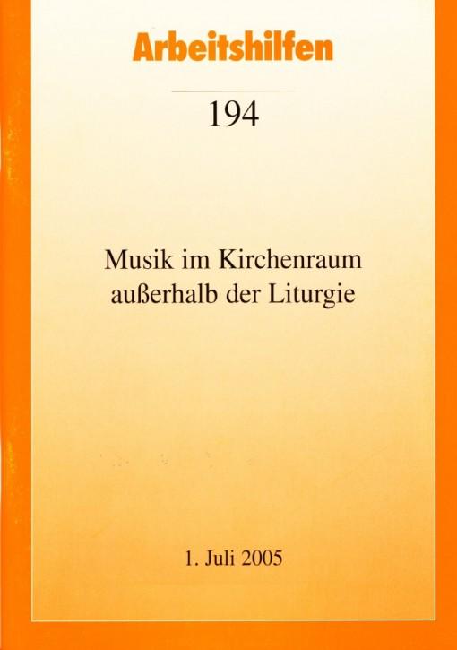 Musik im Kirchenraum außerhalb der Liturgie