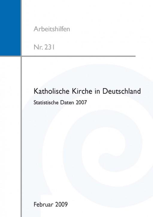 Katholische Kirche in Deutschland - Statistische Daten 2007