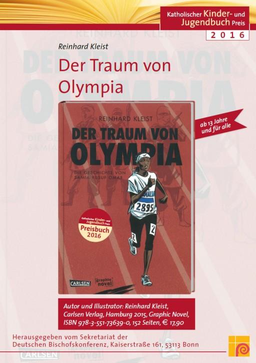 Plakat zum Katholischen Kinder- und Jugendbuchpreis 2016.