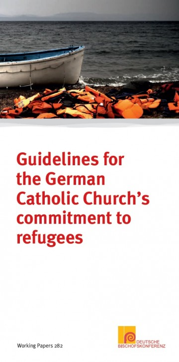 Guidelines for the German Catholic Church's commitment to refugees