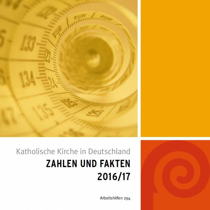 Katholische Kirche in Deutschland: Zahlen und Fakten 2016/17. Bonn, 2017.