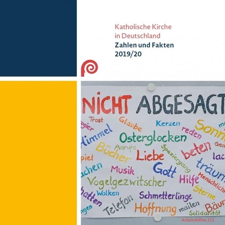 Katholische Kirche in Deutschland: Zahlen und Fakten 2019/20. Bonn, 2020.