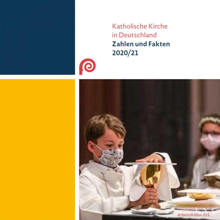 Katholische Kirche in Deutschland: Zahlen und Fakten 2020/21. Bonn, 2021.