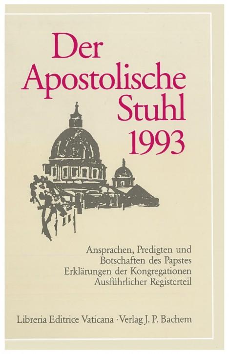 Der Apostolische Stuhl 1993