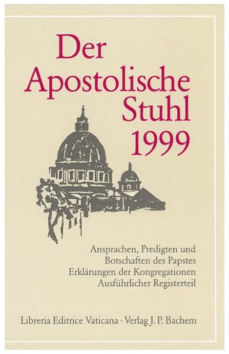 Der Apostolische Stuhl 1999