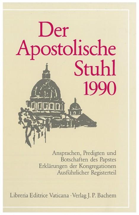 Der Apostolische Stuhl 1990
