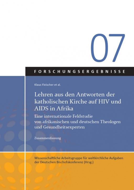 Lehren aus den Antworten der katholischen Kirche auf HIV und AIDS in Afrika