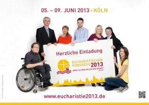 Plakat zum Eucharistischen Kongress 2013 - DIN A3 Format