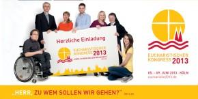 Flyer zum Eucharistischen Kongress 2013