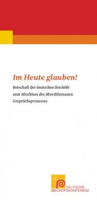 """Flyer """"Im Heute glauben!"""""""