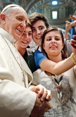 Gebet von Papst Franziskus für die Jugend