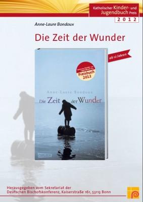 Plakat zum Katholischen Kinder- und Jugendbuchpreis 2012