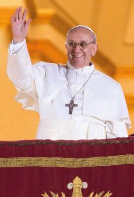 Gebetszettel zur Wahl von Papst Franziskus