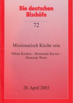 Missionarisch Kirche sein
