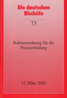 Rahmenordnung für die Priesterbildung