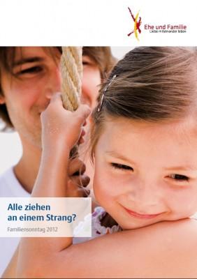 Plakat zum Familiensonntag 2012