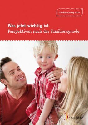 Plakat zum Familiensonntag 2016