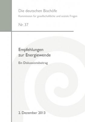 Empfehlungen zur Energiewende. Ein Diskussionsbeitrag