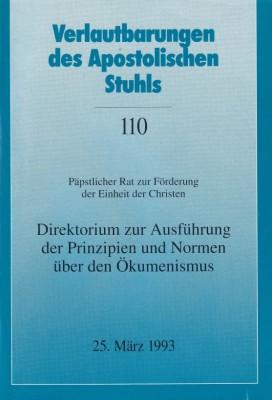 Direktorium zur Ausführung der Prinzipien und Normen über den Ökumenismus